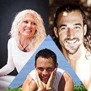 Julien Levy, Lilian Durey Et Charlotte Saint Jean