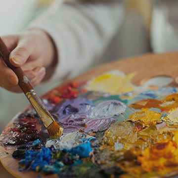 Peinture : les couleurs