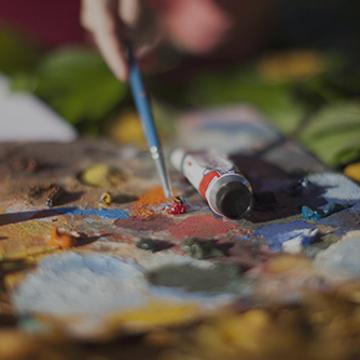 Peinture : le Matériel