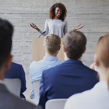 Prendre la parole en public : structurer son message