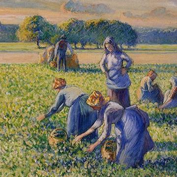 Peindre à la manière de Pissarro
