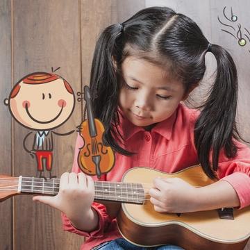 Ukulélé pour enfants (6-12 ans)