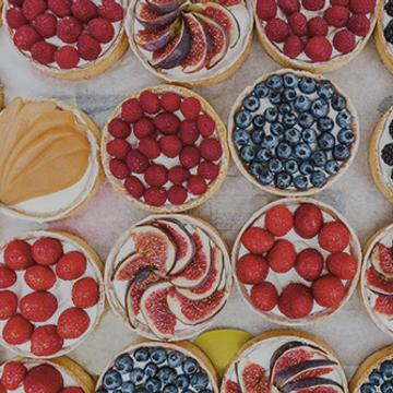 Pâtisserie : Autour des Tartes