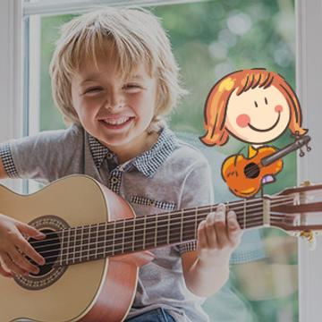 Guitare pour enfants (6-12 ans)