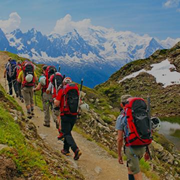 Randonnée : le tour du Mont Blanc
